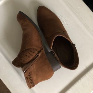 Shoes - Brown Suede Boots